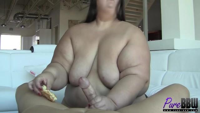 500lb+ Apple Bomb loves Donuts & cock 11