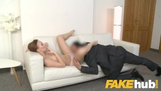 Sweet pussy facial with and big russian fake perfect agent ass for model tits cock