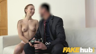 Fake Agent Big facial for sweet Russian model with perfect ass and pussy Hardcore interview