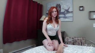 Impregnating My New Stepmother  olivia fyre point of view cum inside me hairy pussy stepmother redhead mom pov milf step mother butt mother stepmom big boobs impregnate