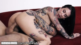 Back tour cums burningangel when man from joanna's blowjob high