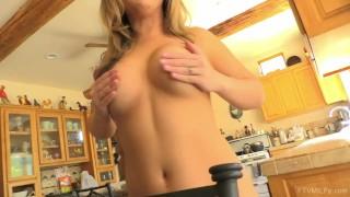 Horny Blonde Carmen Valentina Fucked Poolside on FTV MILFs