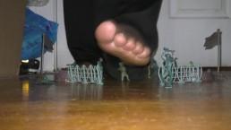 amaninheels | My Bare Feet vs the Army