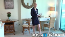 PropertySex - Hot Southern MILF real estate agent gets creampie