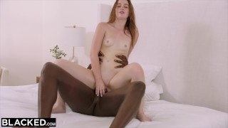 BLACKED Teen Fucks Her Sister's Boyfriends BBC Behind Her Back Skinny bdsm