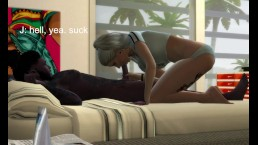 Sims 4 Adult Seriers: Just JDT EP3- But Y U Jealous?