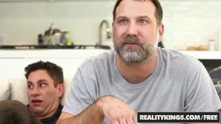 Reality Kings - Sneaky Sex - No Fucking Around - Sofi Ryan , Brad Knight