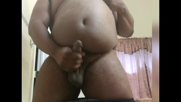 Black Chub Shoots Big Load