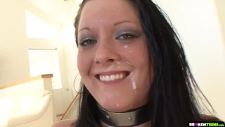 White Teen Gets Drilled In Her Perfect Ass