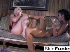 Skins lesbian Dr. Who anal with Leya