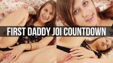 Daddy Cum To My Coundown JOI