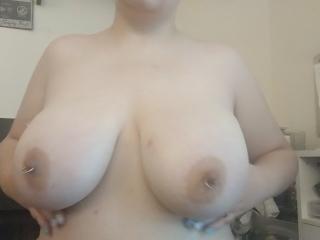 ASMR Huge Pale Breast Worship