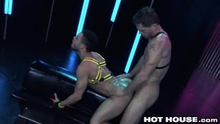 Interracial Sexy Muscle Big Dick Boys ROUGH Fucking