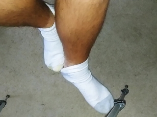 College Boy Sock Removal