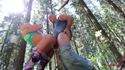 Anal in the forest