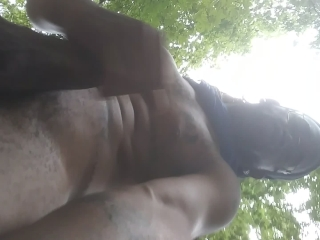 Hiking with my dick out