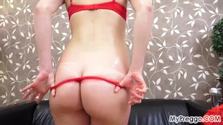 Victoria Oils Up and Plays with Her Pussy!