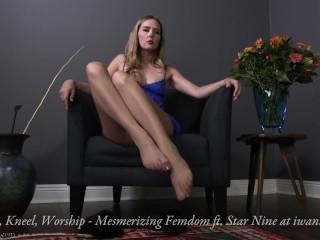 Breathe, Kneel, Worship - Mesmerizing Femdom Trailer