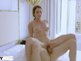 TUSHY Assistant Makes Her Boss Work For Anal