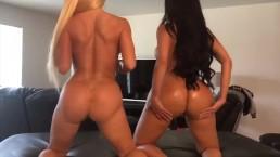 Twerk team. Lela Star and Nikki Delano
