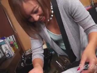 【無】おっぱい過失乳 ~美容師編~ 西条沙羅 Sara Saijyo