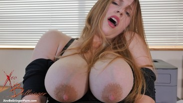 Desperate Secretary Boosts Bigger Boobs For Boss 4k