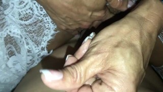 Riding guys cock cd straight off lingerie