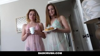 Fucks stepdad his lucky dadcrush stepdaughters point daddy