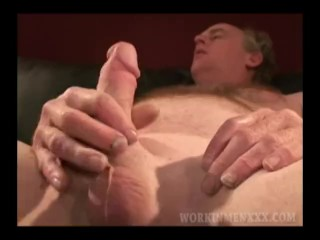Mature Amateur Gerald Beating Off