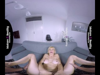 MatureReality – Blonde Mature with tight body