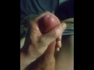 From my cock to your pussy. Big cock cumshot