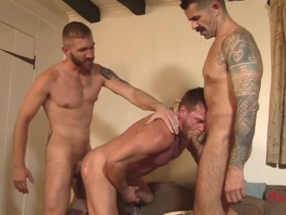 Hunky Evening Threeway - The Weekend