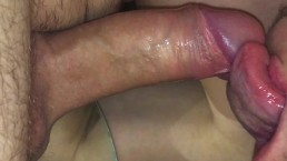 SLOPPY DEEP ORAL CUM IN MOUTH / SELFSUCK