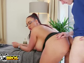 BANGBROS – Big Tits British Cougar Emma Butt Demands Massage From Step Son