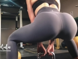 Workout w/ LeoLulu Turns to a Hard Fuck in the Gym's Toilets – Amateur