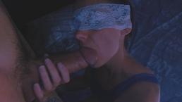 I love sucking his big cock