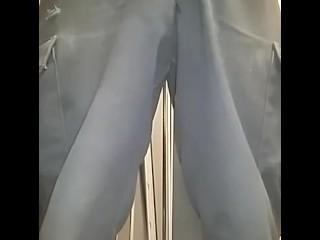 Peeing at work