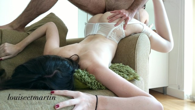Lingerie sewing supply garters Intense fuck in hot lingerie till orgasm with his curved dick - 4k