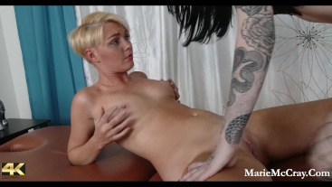 Fishnet Erotic Massage W Marie McCray and Charlotte Sartre Full