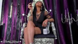 Mistress Kennya: Cigar ash loser trailer