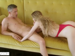 Naughty Loves Mistress video: VIXEN Naughty Mistress Loves Teasing Her Man In Front Of His Wife