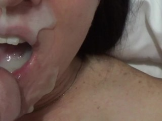 Homemade facial for cum hungy girlfriend