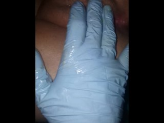 Dirty daddy playing with slutty mamas g spot gives screaming orgasms