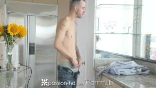 PASSION-HD Big dick treat for aggressive masturbating girlfriend