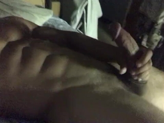 Hot stud busts a huge load