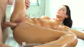 PASSION-HD Balcony tease with pornstar August Ames
