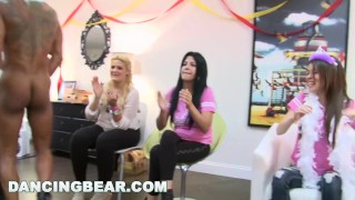 DANCING BEAR - Christie's Bachelorette Party With The Dancing Bear