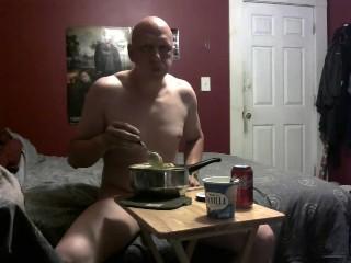 piggy feeding belly stuffing 7/7/18