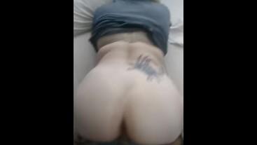My Girl Riding My Long hard cock