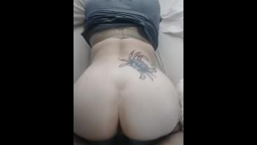 My girl Riding my Hard big Cock